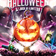 Halloween Dj Party Flyer - GraphicRiver Item for Sale