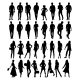 Silhouettes. Vector Illustration - GraphicRiver Item for Sale
