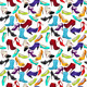 Seamless Pattern with Different Shoes - GraphicRiver Item for Sale