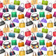Seamless Pattern with Women's Bags - GraphicRiver Item for Sale
