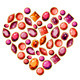 Jewellery Heart Made of Different Gems - GraphicRiver Item for Sale