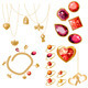 Set with Rings, Gems and Bracelet - GraphicRiver Item for Sale