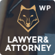 Lawyer & Attorney - Law Firm WordPress - ThemeForest Item for Sale