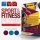 Fitness Flyer Vol.13 - GraphicRiver Item for Sale