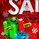 X-Mas Commercial Flyer - 2 Sides - Editable Colors - GraphicRiver Item for Sale