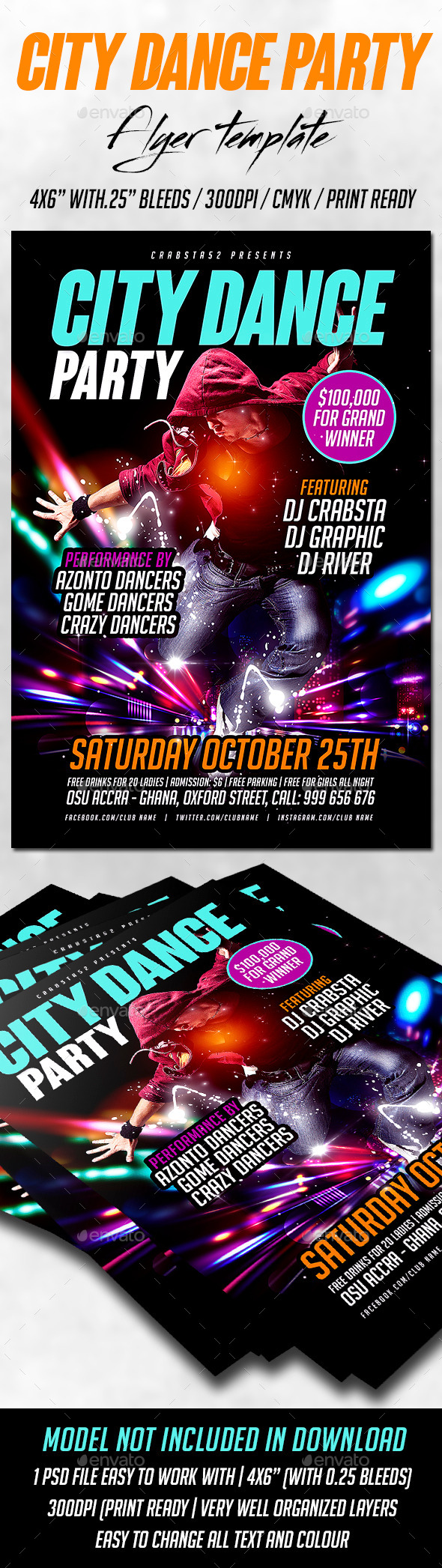 Dance Battle Graphics, Designs & Templates from GraphicRiver