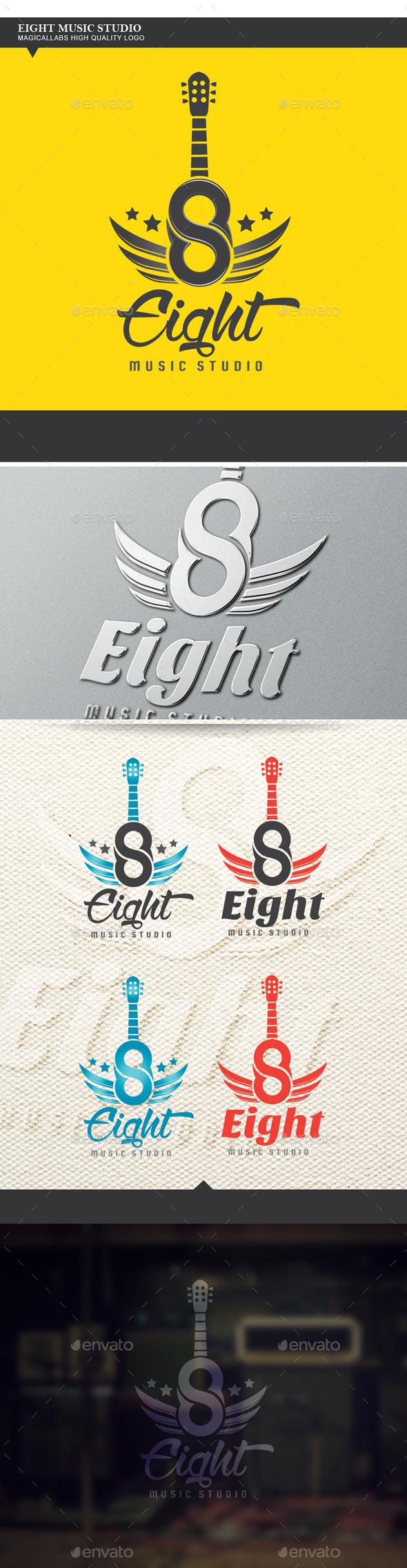 Eight Music Studio Logo