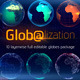 Glob@lization - 10 Editable Globes Pack - VideoHive Item for Sale