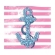 Print Anchor with Flowers - GraphicRiver Item for Sale