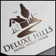 Deluxe Hills Logo - GraphicRiver Item for Sale