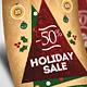 Retro Christmas Flyers Template PSD - GraphicRiver Item for Sale