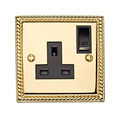 Gold Electric Socket - PhotoDune Item for Sale