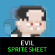 Evil Sprite Sheet - GraphicRiver Item for Sale