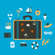 Suitcase Travel - GraphicRiver Item for Sale