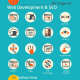 Business Icon Set. Software and Web Development - GraphicRiver Item for Sale