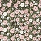Retro Flowers Pattern in Vector - GraphicRiver Item for Sale