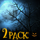 Halloween Backgrounds - 2 Pack - VideoHive Item for Sale
