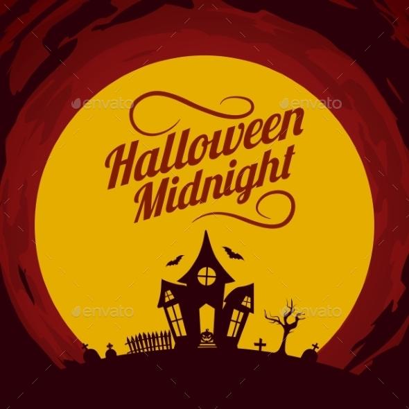 Halloween Background.