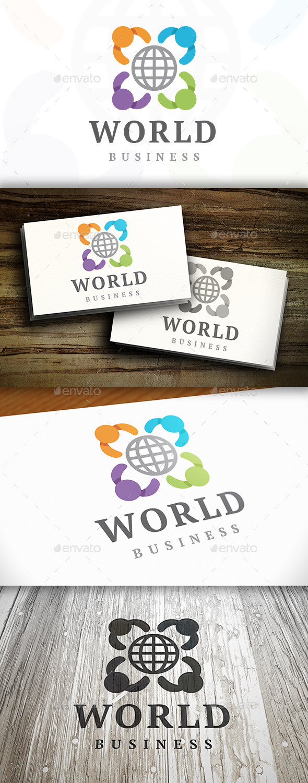 Kids World Logo Template