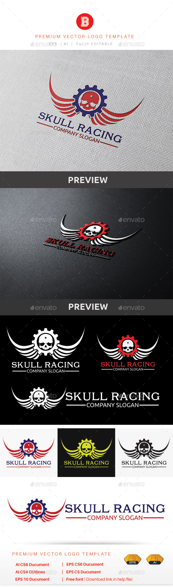 Skull Racing