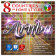 8 Countries in the Font Style #1 - GraphicRiver Item for Sale