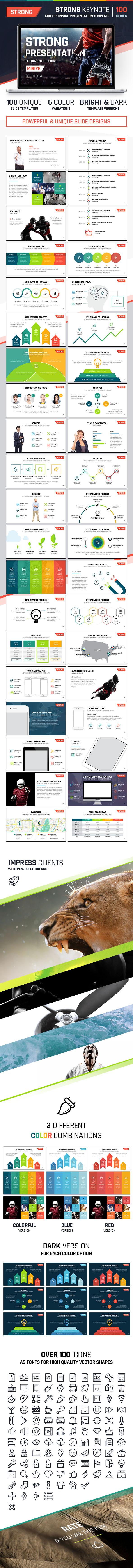 preview - Download Strong Keynote - Multipurpose Presentation