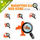 Magnifying Glass - Web Icons - GraphicRiver Item for Sale
