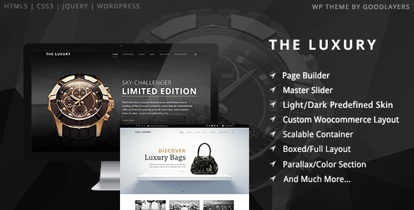 The Luxury Dark / Light Responsive