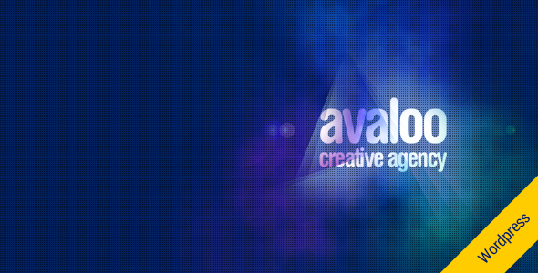 avaloo - One Page Creative Agency WP Theme