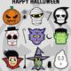 Halloween Sticker Set - GraphicRiver Item for Sale
