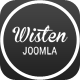 Wisten - One Page Parallax Joomla Template - ThemeForest Item for Sale