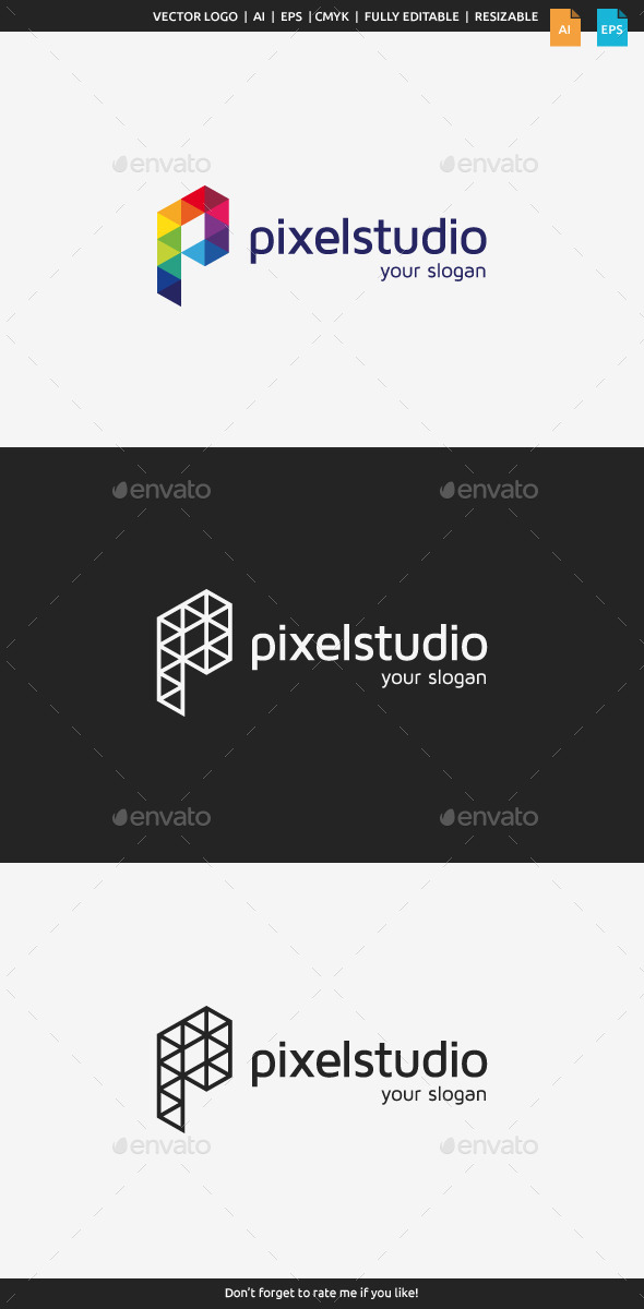 Pixel Studio Logo