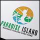 Paradise Island Logo - GraphicRiver Item for Sale