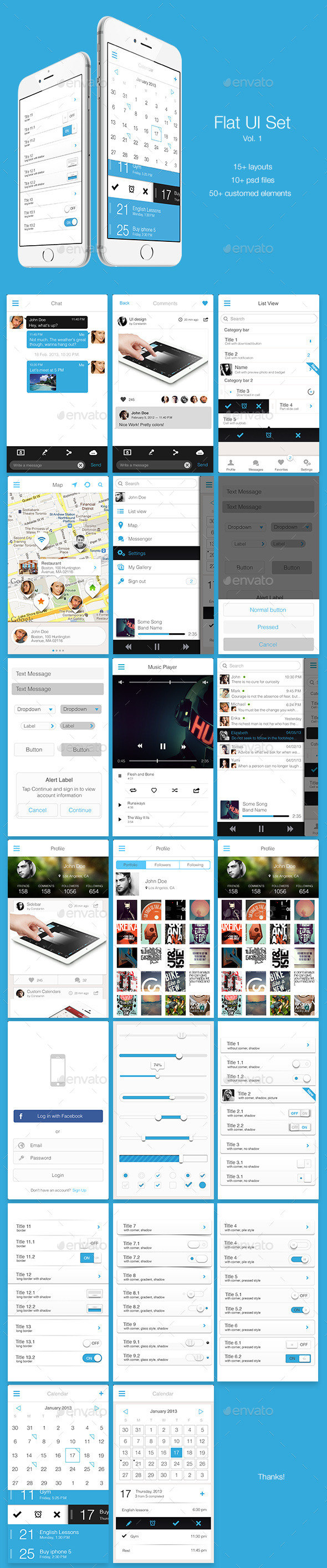 UI Templates from GraphicRiver