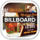 Mexican Restaurant Promotion Billboard - GraphicRiver Item for Sale