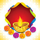 Abstract Artistic Diwali Background - GraphicRiver Item for Sale