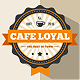Cafe Loyal Logo Template - GraphicRiver Item for Sale
