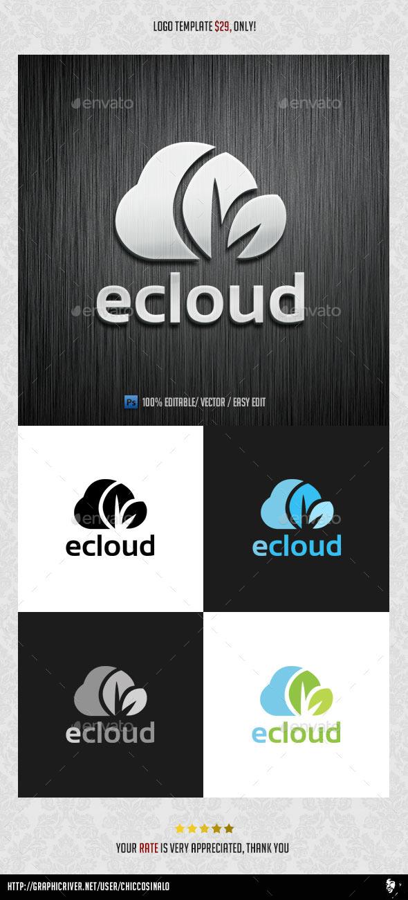 eCloud Logo Template