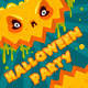 Halloween Party Pumpkin Banner - GraphicRiver Item for Sale