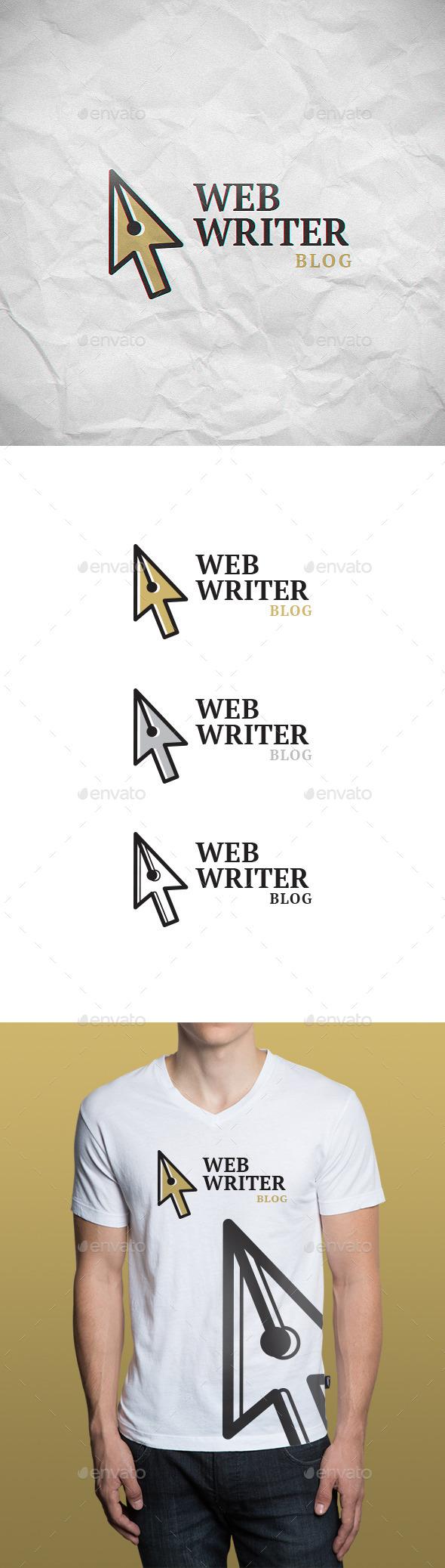 Web Writer Logo Template