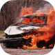 Burning Car - VideoHive Item for Sale