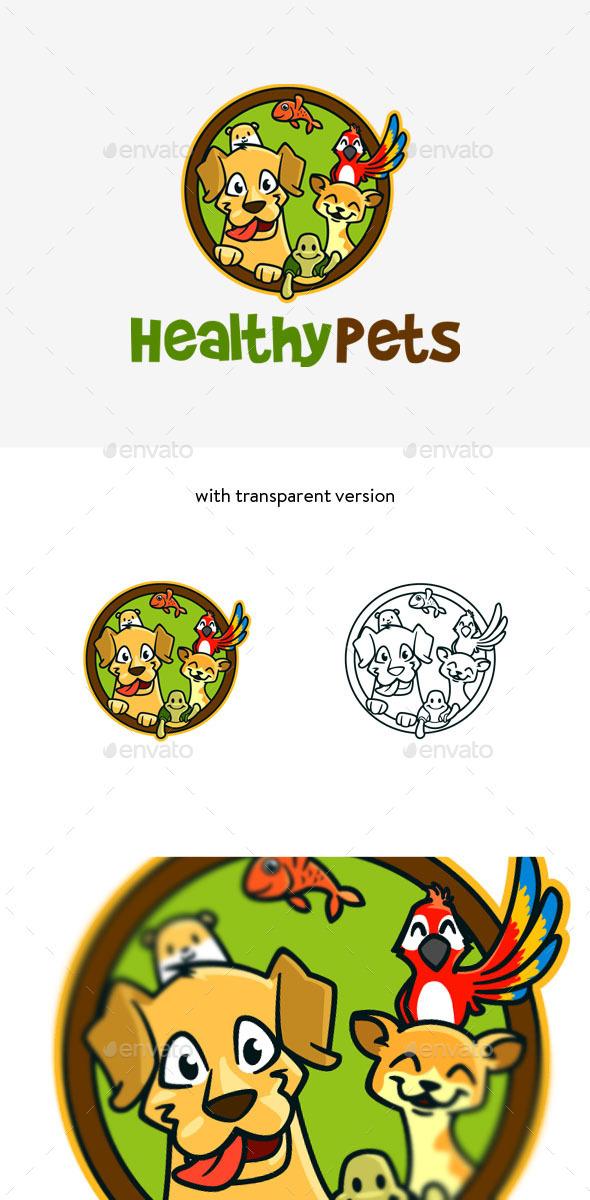 Pet Veterinary Logo