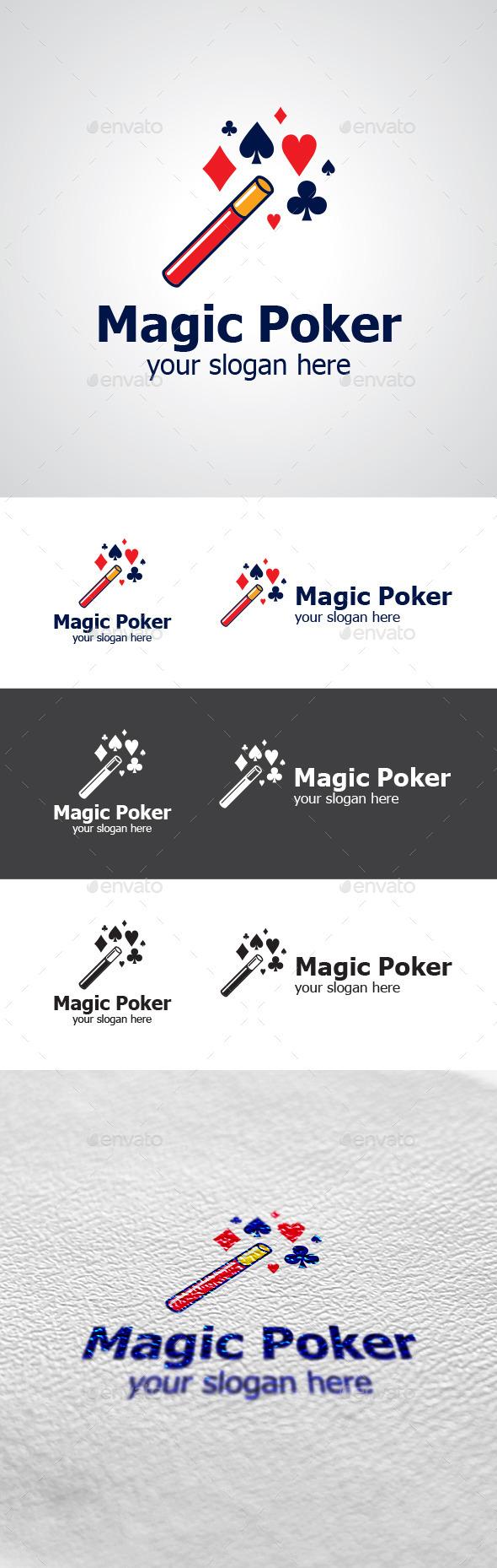Magic Poker Logo Design