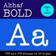 Althaf Bold - GraphicRiver Item for Sale