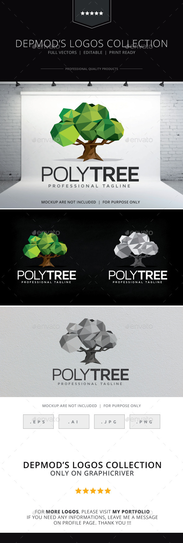 Poly Tree Logo