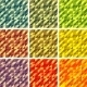 Set Colorful 9 Bright Geometric Backgrounds. - GraphicRiver Item for Sale