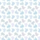 Seamless Pattern. Light Thumb Up Icons. - GraphicRiver Item for Sale