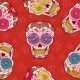 Mexican Skull Seamless Pattern - GraphicRiver Item for Sale