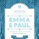 Shabby Chic Wedding Invite - GraphicRiver Item for Sale