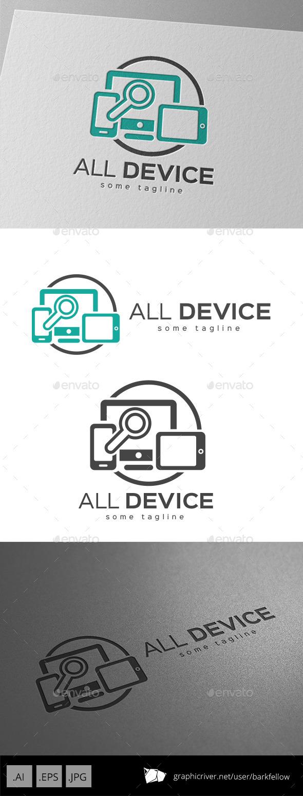Responsive All Device Media Logo